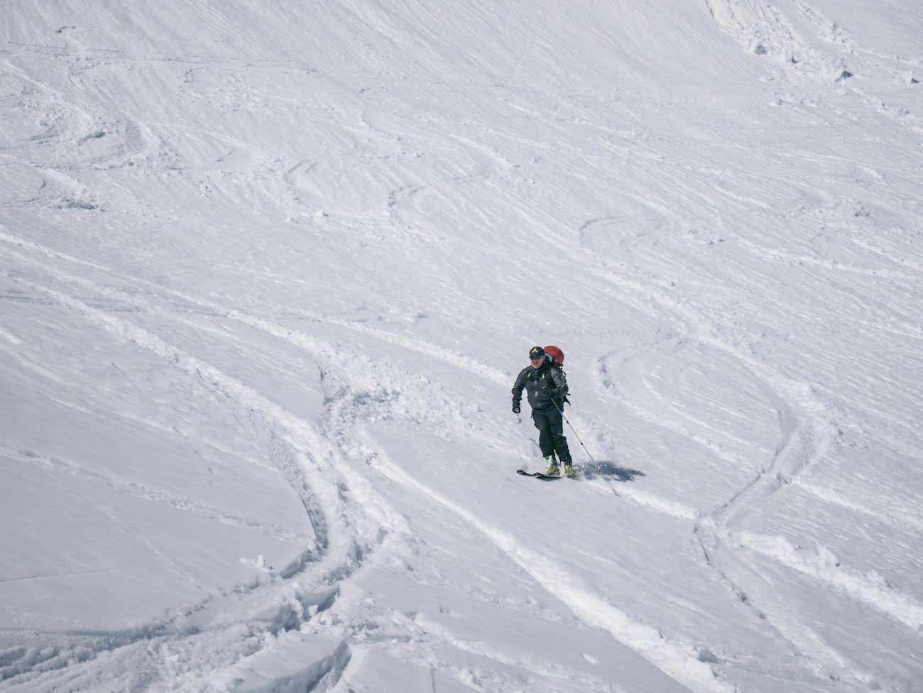 Ski de rando autour de Celliers j1