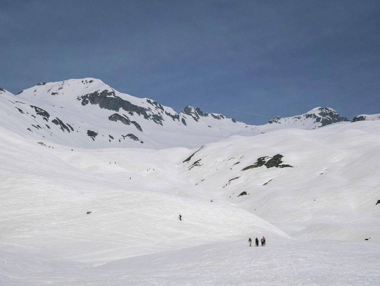 Ski de rando autour de Celliers J2