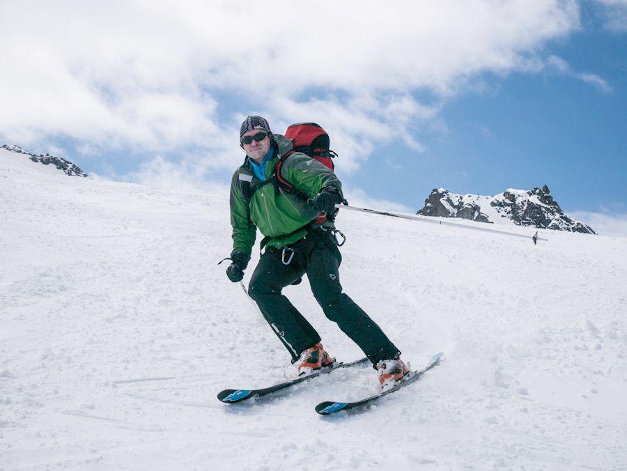 Haute Route de Chamonix à Zermatt, j3