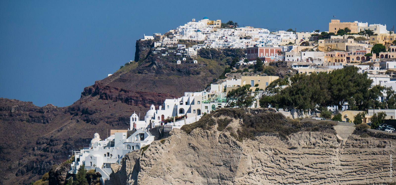 Santorin, Naxos et Athènes