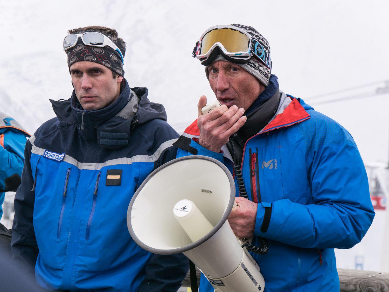 Entrainement au secours en avalanche à Chamonix