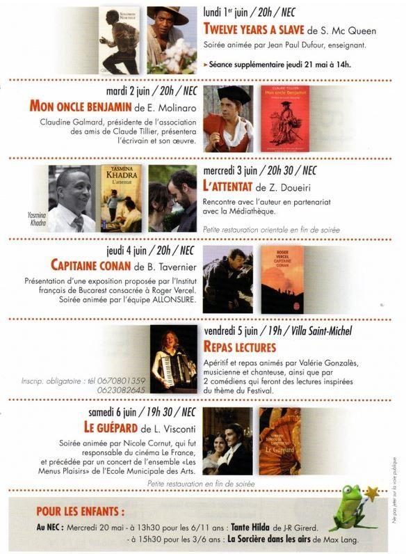 Histoire, littérature et cinéma au programme de la 7° édition du festival Allonslire.