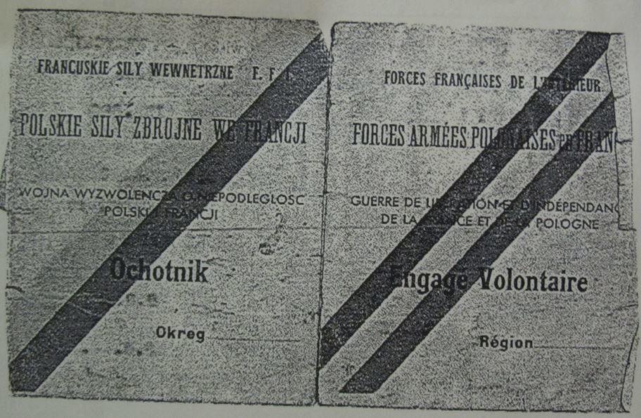 Livret militaire de l'arrière-grand-père de Florian