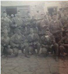 soldats algériens : l'un d'entre eux est l'oncle de la mère de Jasmine