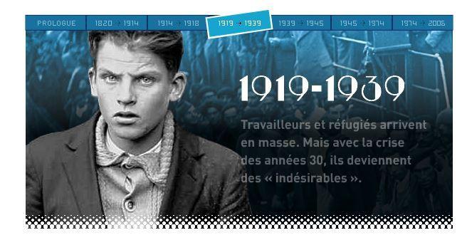 L'immigration et la société française au XXe siècle.