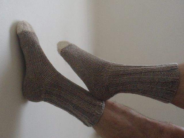 Tuto : Les chaussettes en talon Fleegle