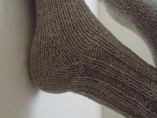 tuto tricot talon chaussette