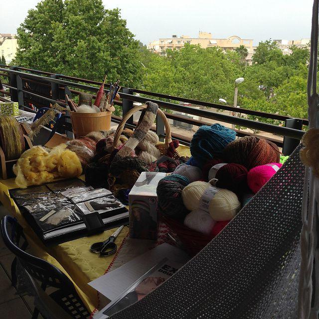 Journée mondiale du tricot 2015
