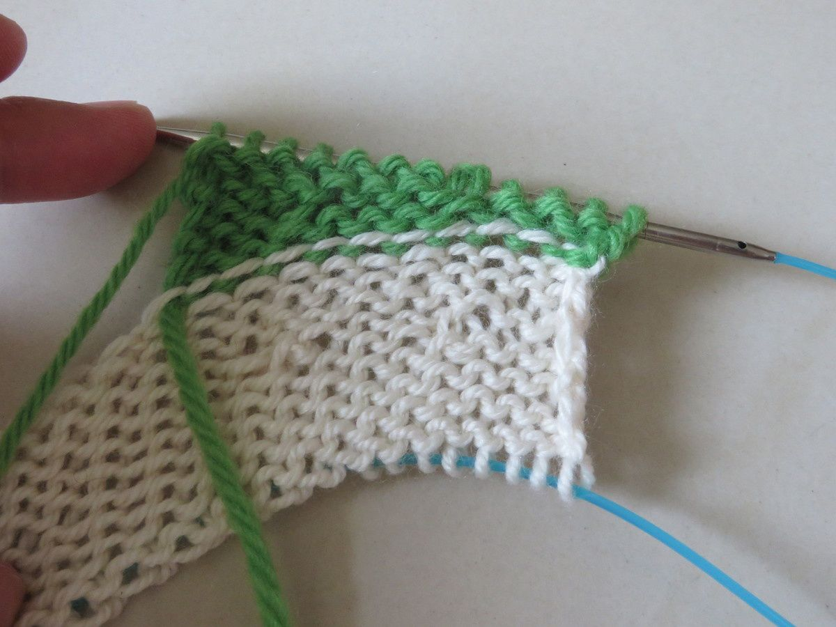 Tuto partie 2 : Set in Sleeves avec rangs raccourcis