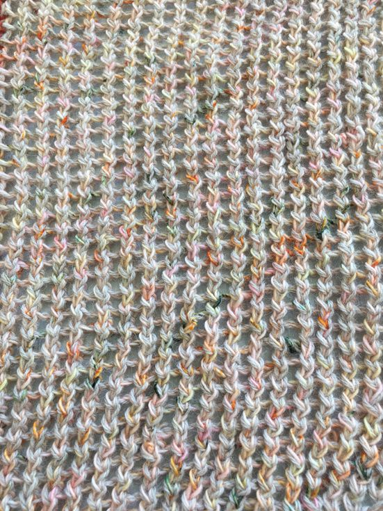 Marled Magic Mystery KAL : section 1 et 2