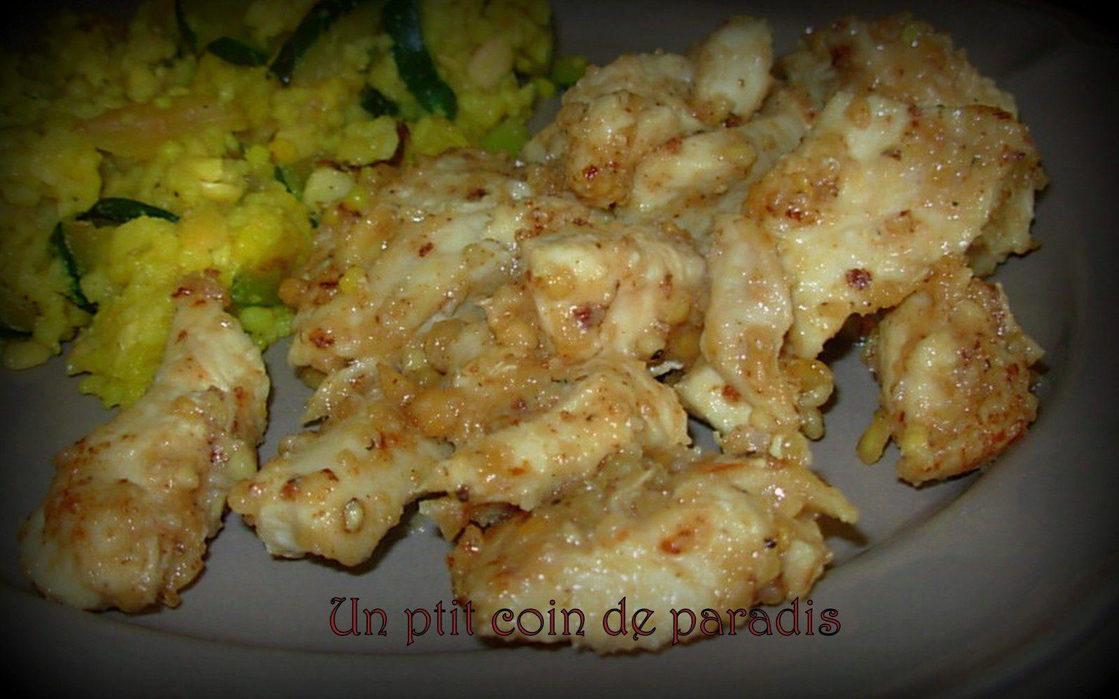 Poulet au beurre de cacahuètes home-made