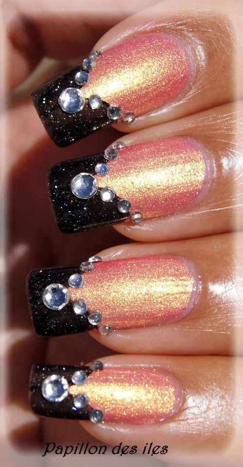 NFU OH : N°3 &amp&#x3B; PICTURE POLISH : Starry Night