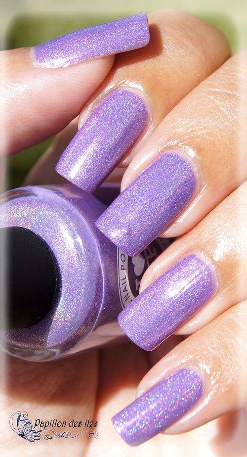 I LOVE NAIL POLISH : Charmingly Purple