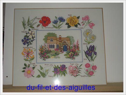 Cottage Garden sampler# Suite et fin!!!