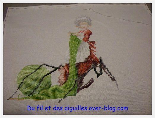 Défi 2013 et plus#3!!!!!Une tricoteuse pas ordinaire!!!!