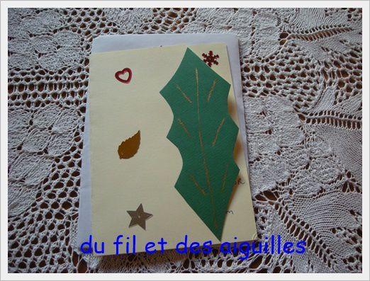 Des cartes de voeux!!!!!!!