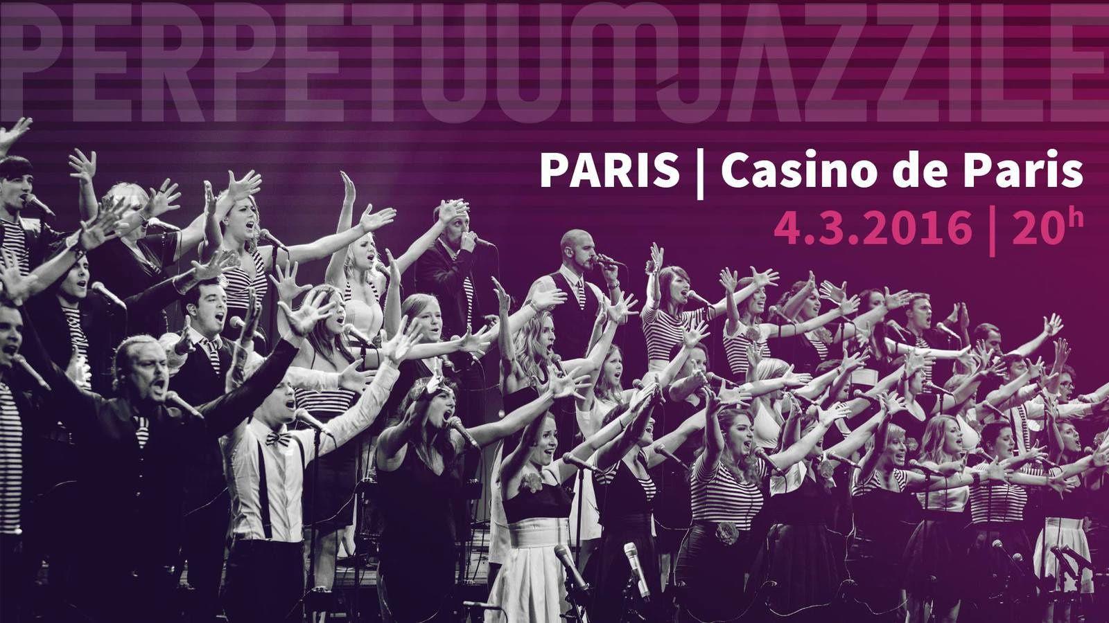 Concert au Casino de Paris
