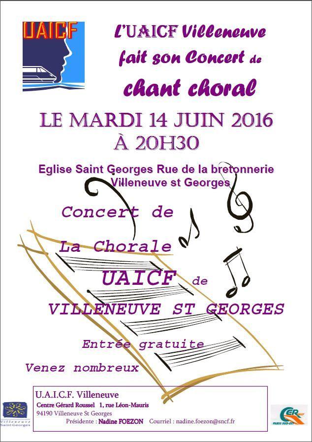 Concert à Villeneuve Saint-Georges