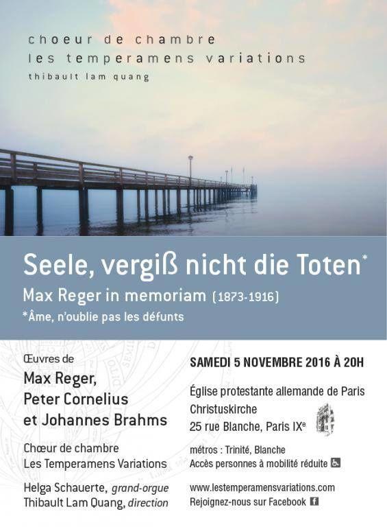 Concert à l'Eglise protestante allemande