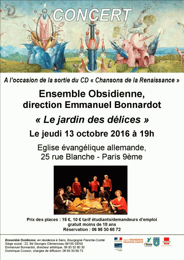 Concert en l'Église évangélique allemande