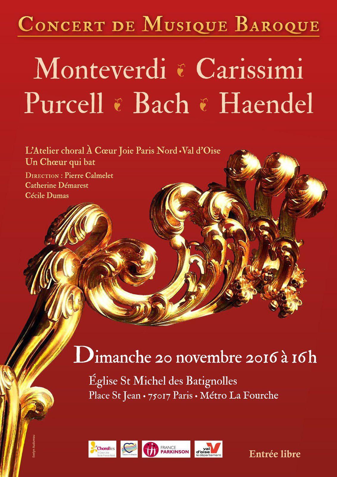 Concert de l'Atelier À Coeur Joie Paris Nord