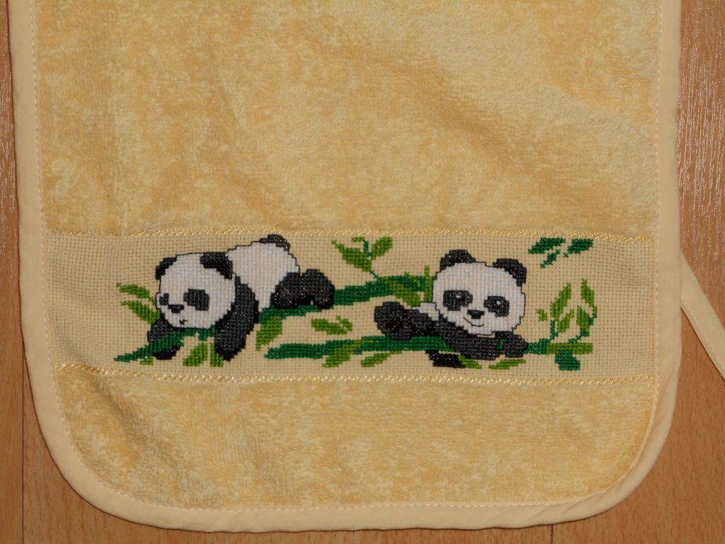 Bavoir pandas