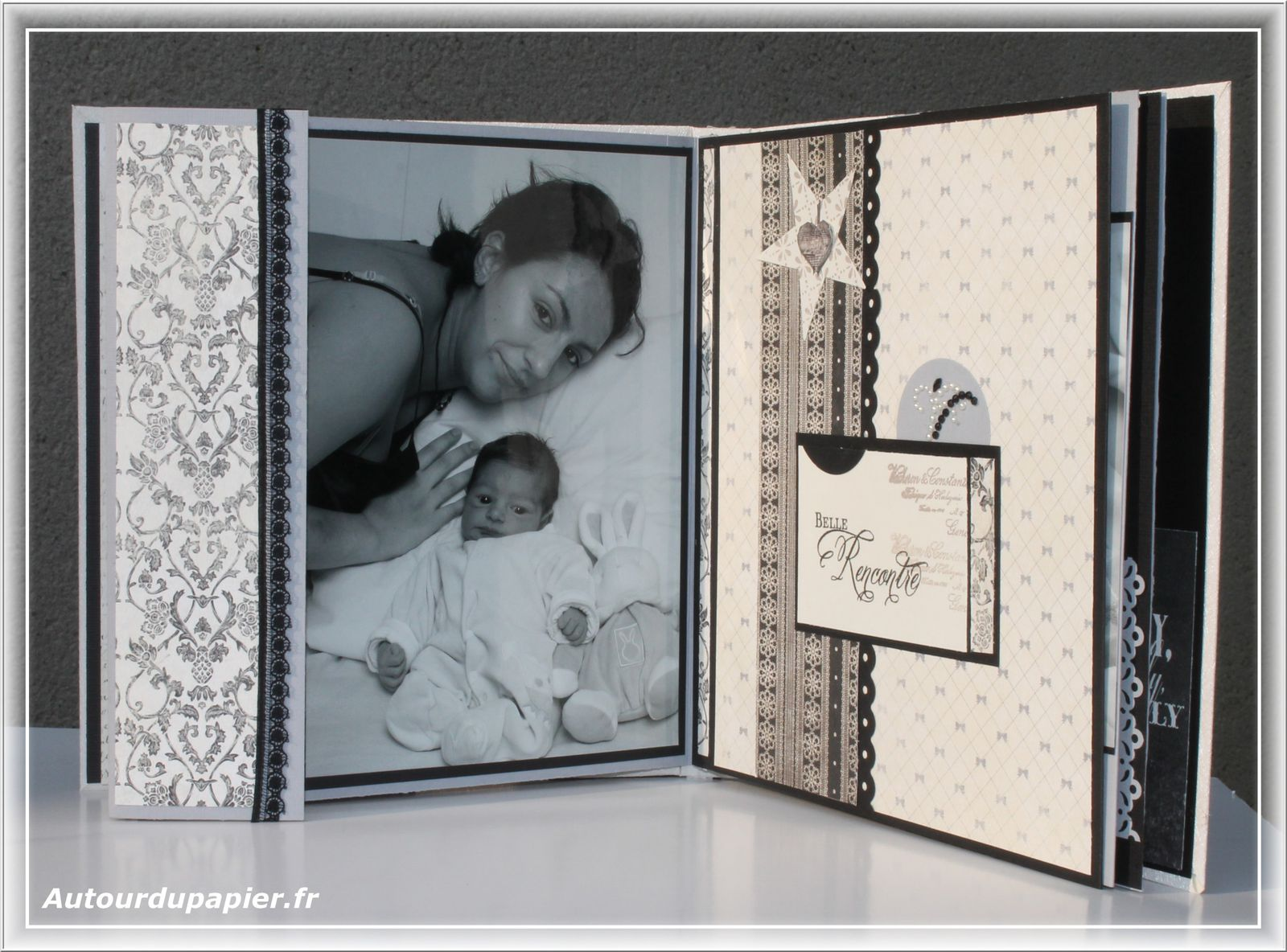 coffret de naissance gar on papiers d 39 un jour. Black Bedroom Furniture Sets. Home Design Ideas