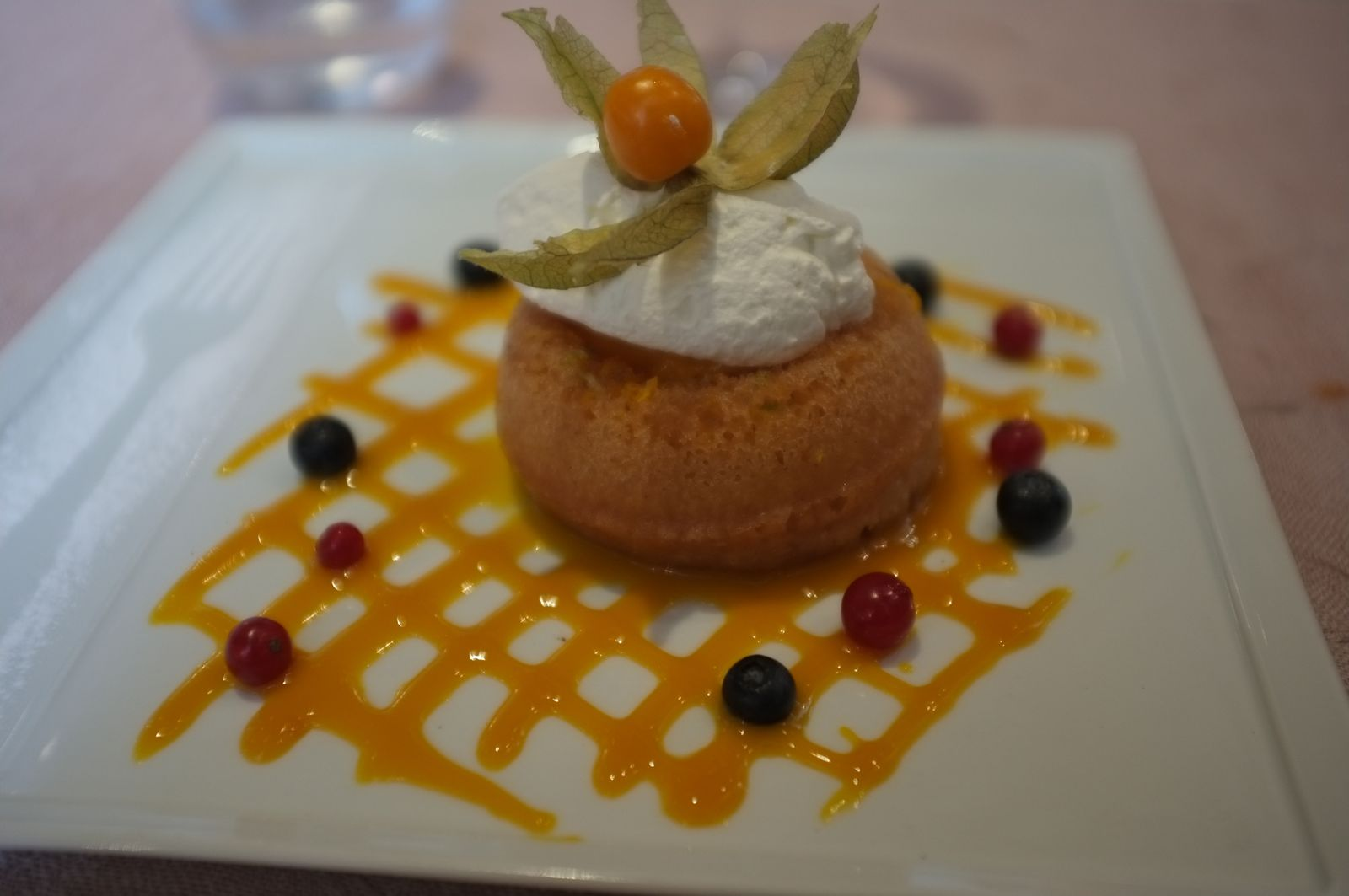 Le savarin à la mangue