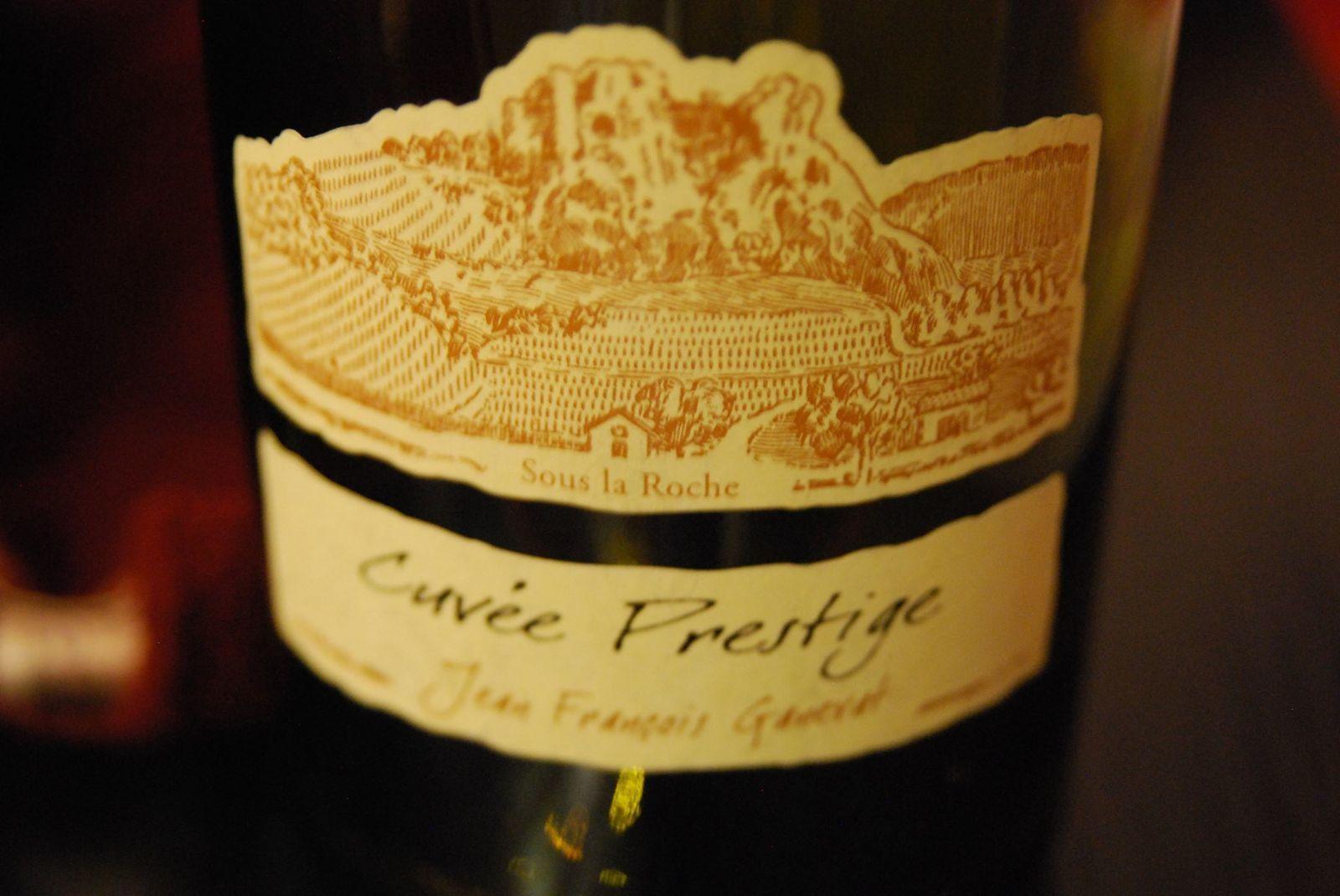 Domaine Ganevat - Cuvée Prestige - Côtes du Jura - Savagnin 2009