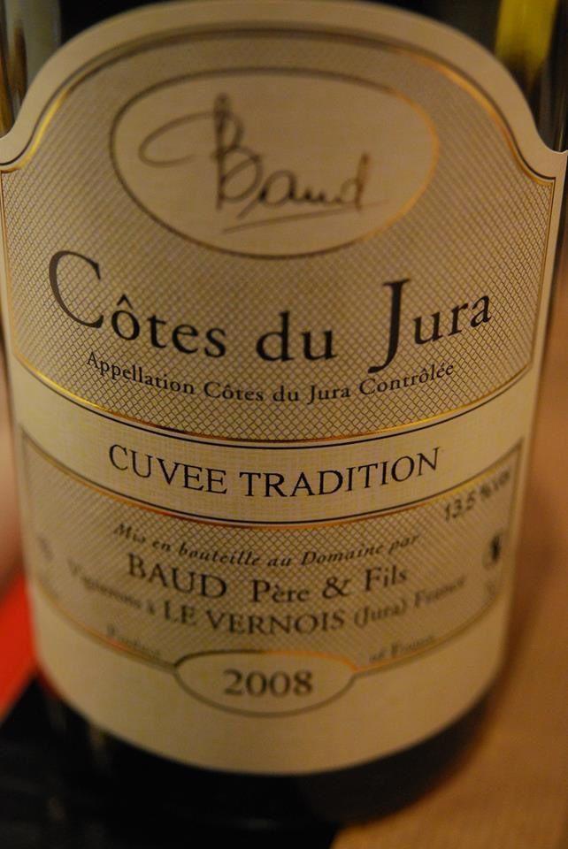 Baud père & fils - Côtes du Jura - Cuvée Tradition 2008