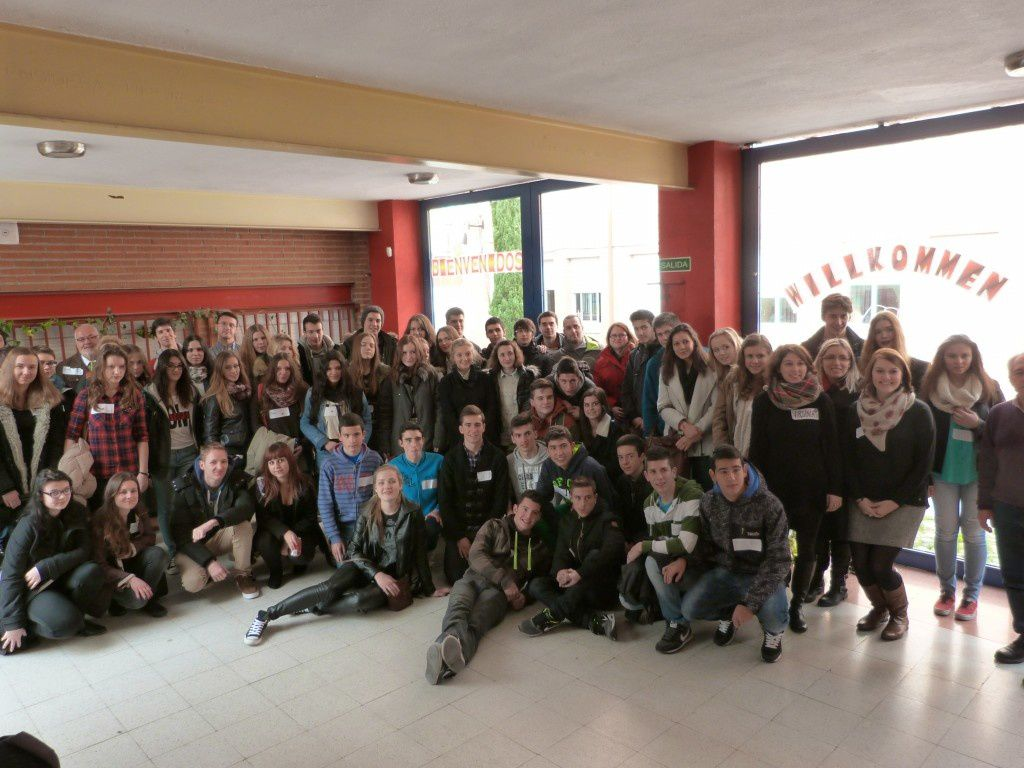 Comenius à Sainte-Marie-Lyon /..../ &quot&#x3B;Comenius&quot&#x3B; Exchange at Sainte-Marie-Lyon