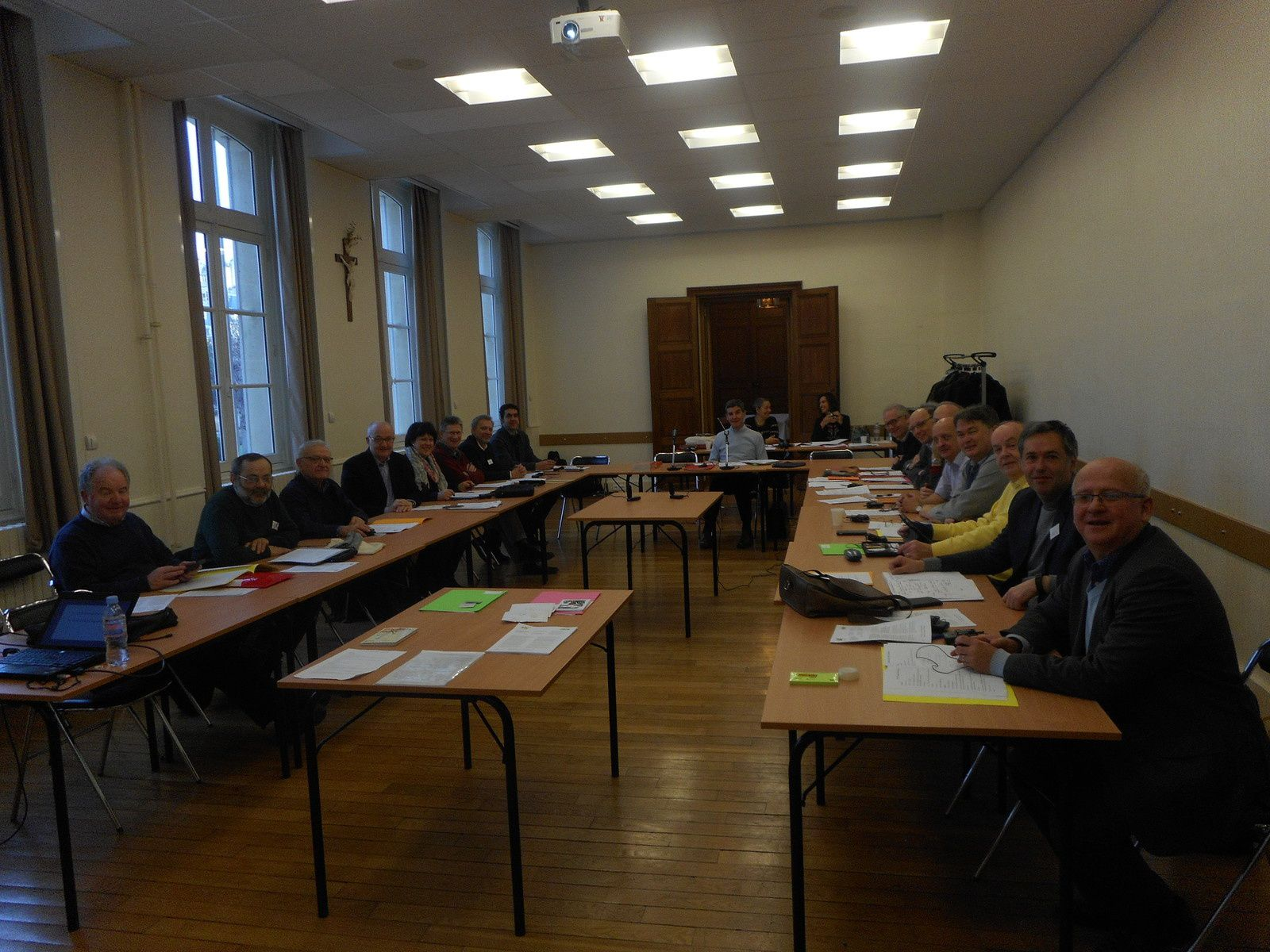 Réunion des chefs d'établissement coordinateurs des institutions éducatives de la Province d'Europe /.../ Meeting of the Heads of the educational centres in the Province of Europe