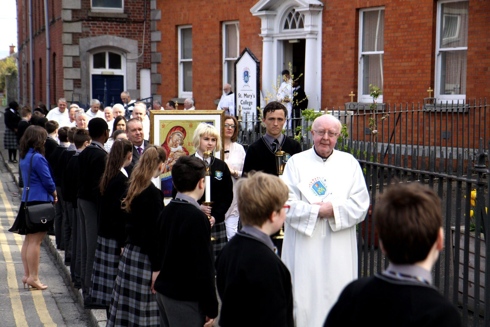 St Mary's Dundalk : Official Opening /..../ Inauguration Officielle