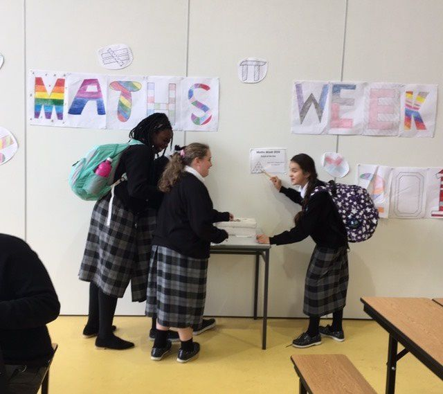 Maths Week 2016 at St Mary's College