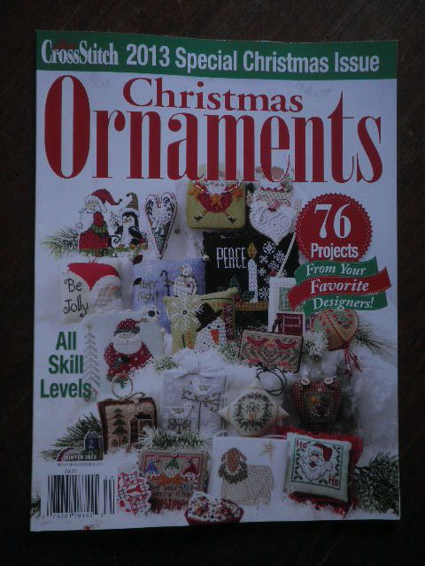 THE CHRISTMAS ORNAMENTS, du Just Cross Stitch magazine.