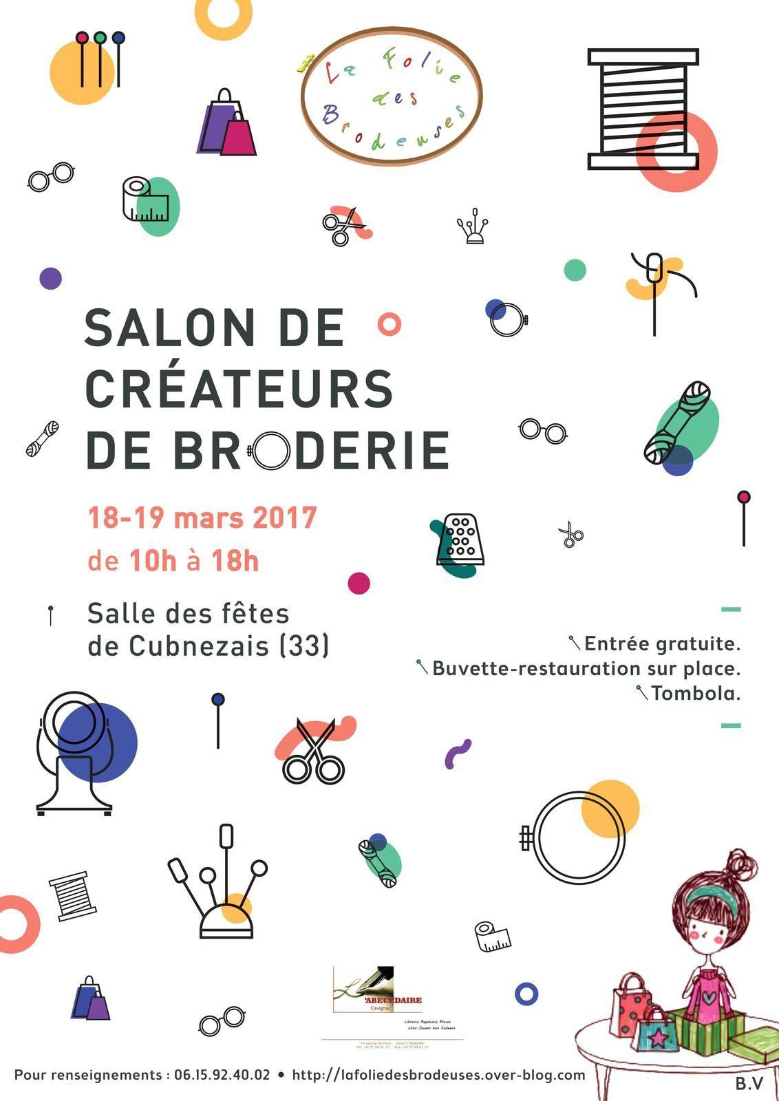 SALON DES CREATEURS DE BRODERIE 2017