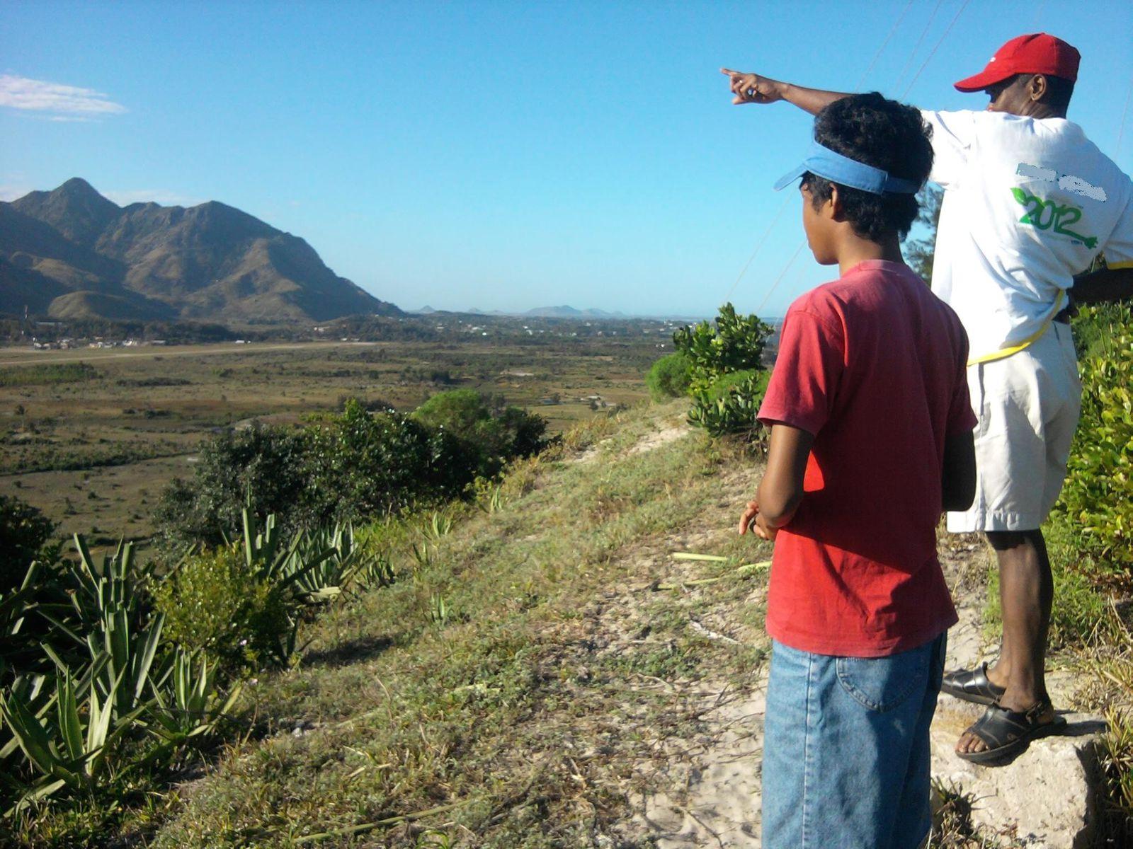 Madagasar, eny ambony eny - de part les hauteurs