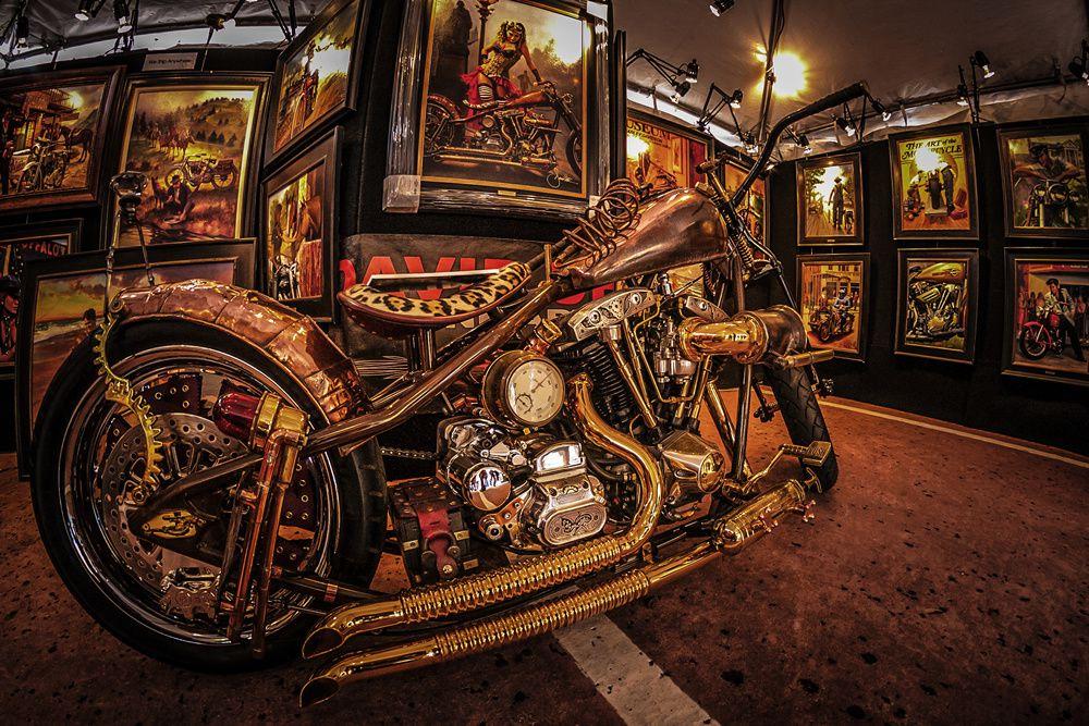 la moto de cuivre by Hervé suite