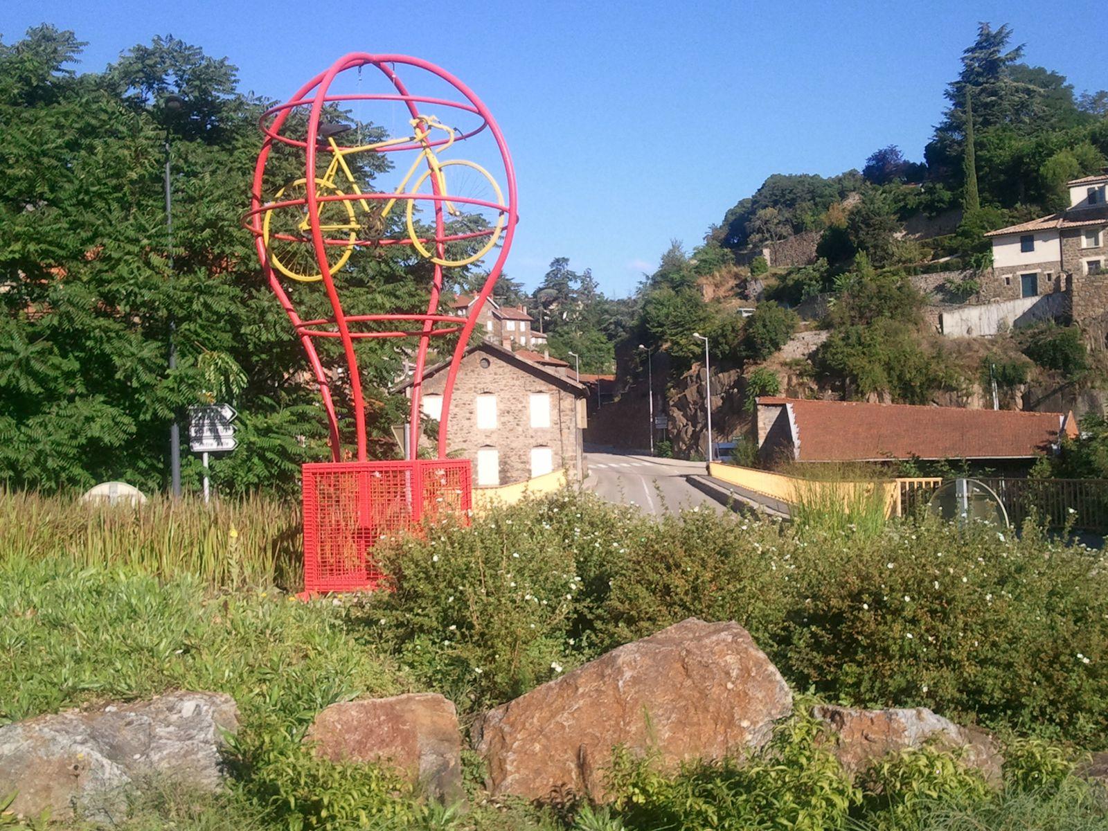 Annonay pays de tanneries, de la Montgolfière et du vélo bien sur
