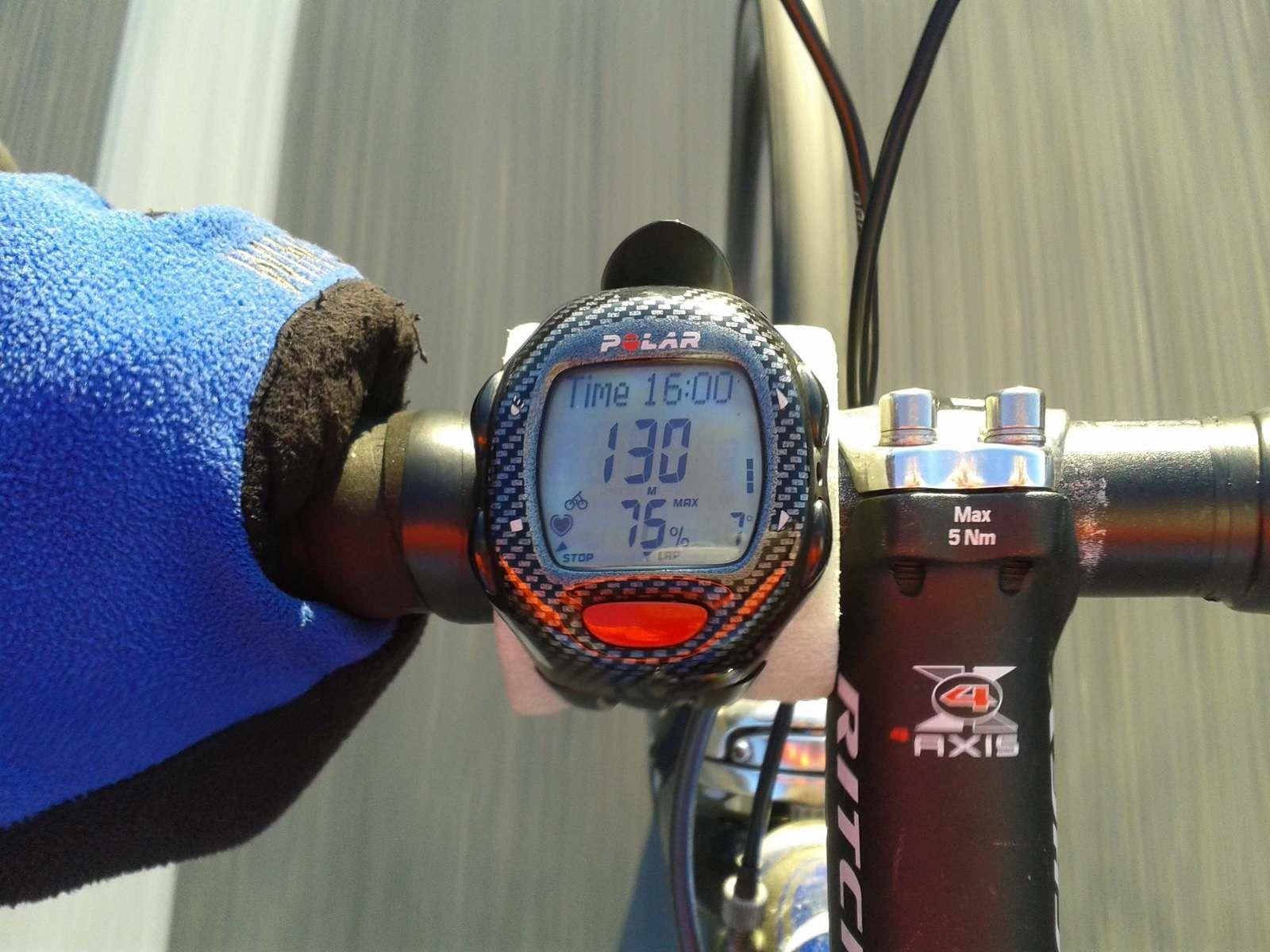 16h à Chateauneuf/Isére 4/5° de moins et les gants en plus.
