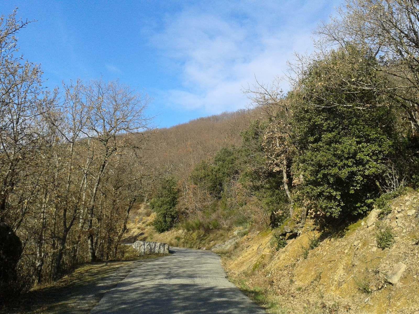La route est encore longue mais qu'est ce que c'est beau! Et d'être sur un vélo...... :)