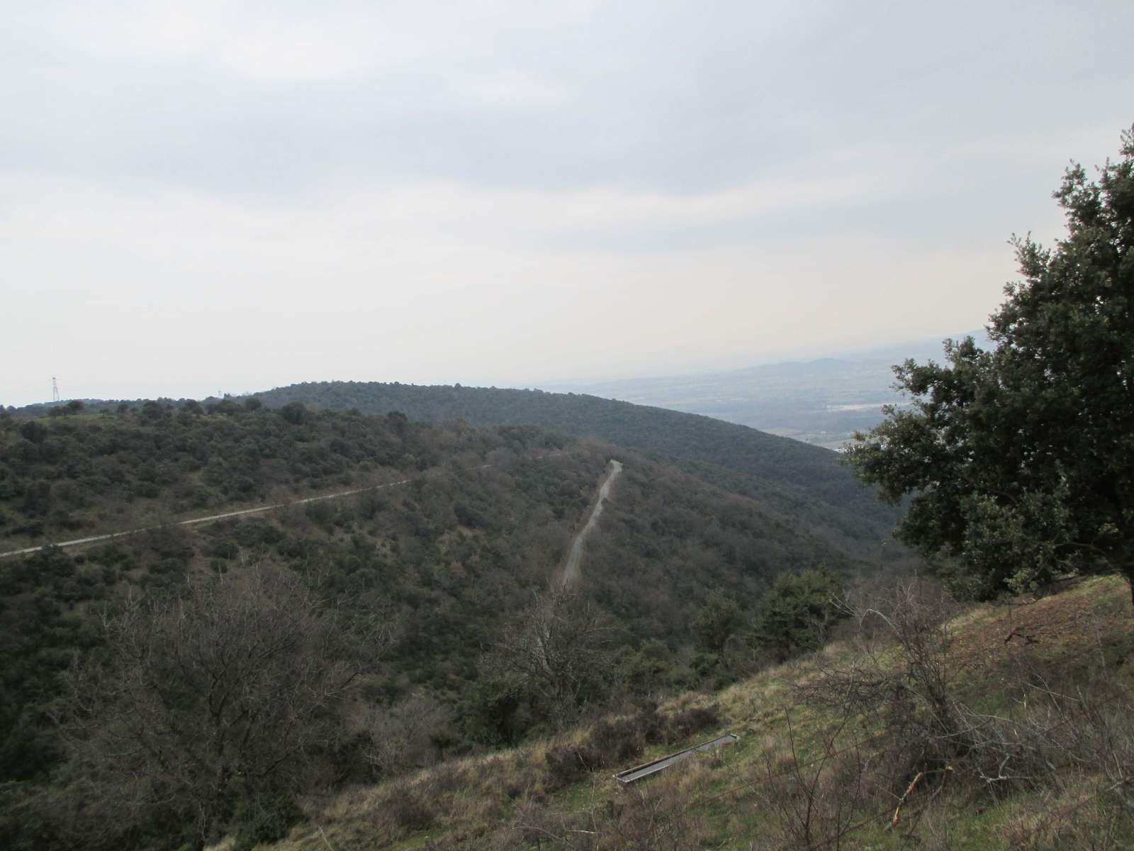 Magnifique montée sur Gilhac et Bruzac