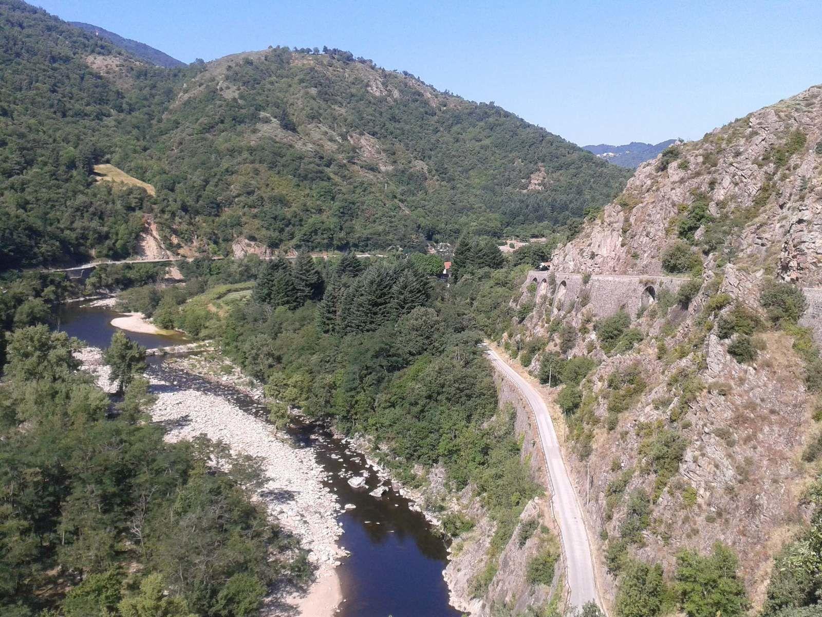 Descente sur le Pont de Chervil