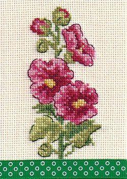 les roses trémières de Véro