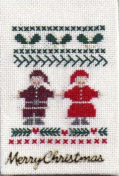 Petit couple de Noël