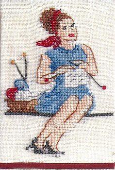&quot&#x3B;Maman tricote&quot&#x3B;