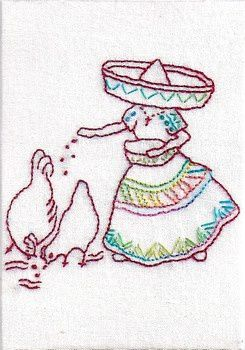 mes poules mexicaines