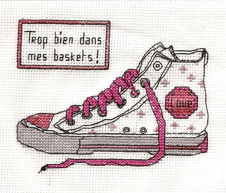 une baskets