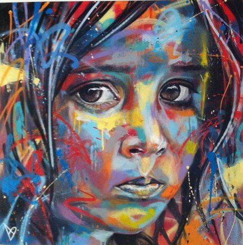 un grafitti de David Walker