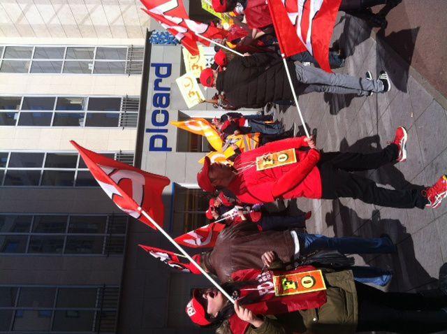 A l'initiative de FO, mouvement social d'envergure dans le groupe Picard